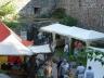 Höchster Altstadtfest 2014, im Burggraben wurde auch fleißig gehandelt