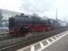 01 118 bei der Abfahrt nach Meiningen