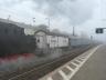 Abfahrender Zug nach Meiningen