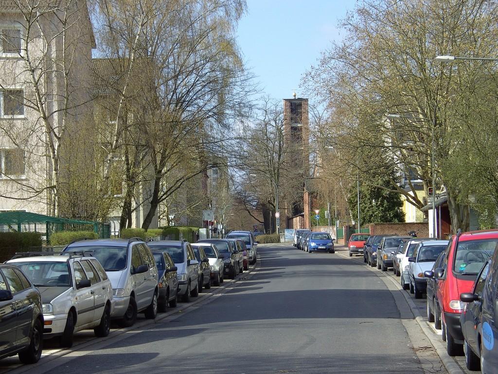 Sieringstraße - die kleine unbedeutende Straße im Westen Frankfurts
