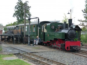 Zug im Frankfurter Feldbahn-Museum
