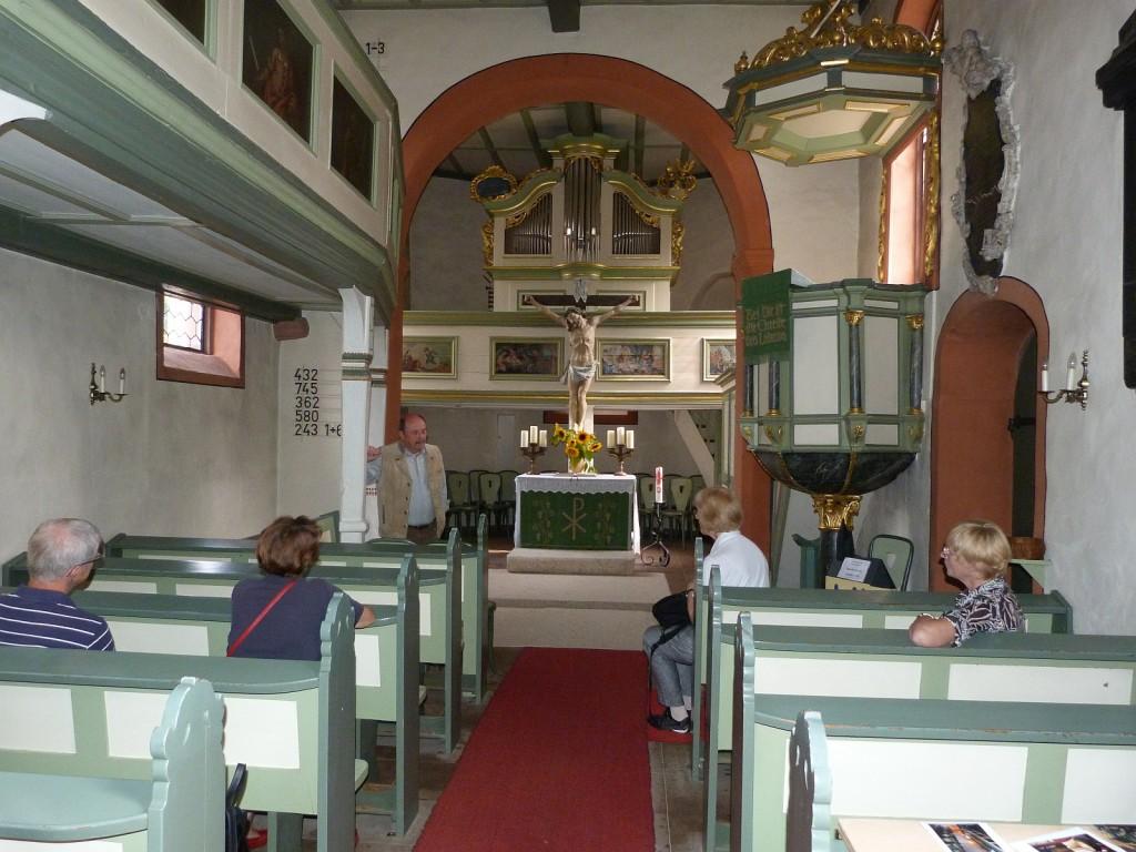 Tag des offenen Denkmals in der Dorfkirche Unterliederbach