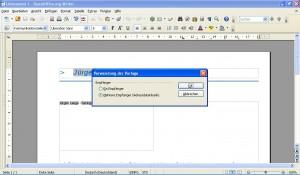 OpenOffice.org 3.3.0 - Vorlage in Writer