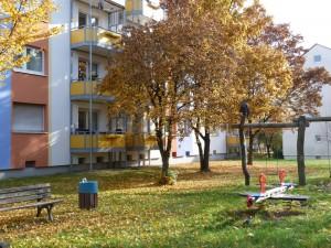 Herbstimpressionen in der Euckenstraße, Frankfurt am Main Unterliederbach