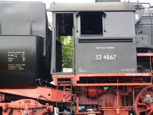 52 4867 der Historischen Eisenbahn Frankfurt e.V. (HE)