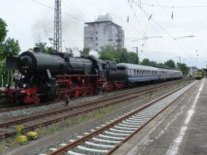 524867 abfahrbereit im Bahnhof von Frankfurt am Main Höchst