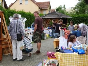 Höfeflohmarkt im Unterliederbacher Heimchen, Frankfurt am Main