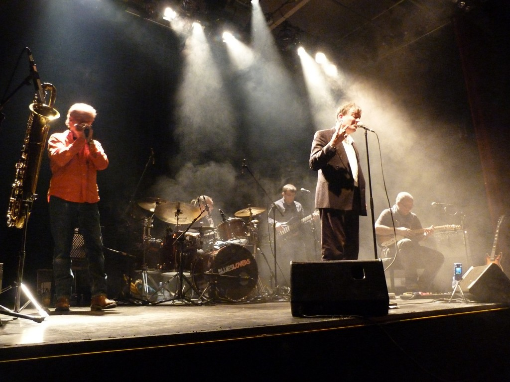 Die Frankfurt City Blues Band in Höchst (2013)