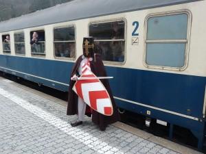 Ritter Ulrich am Zug der HE