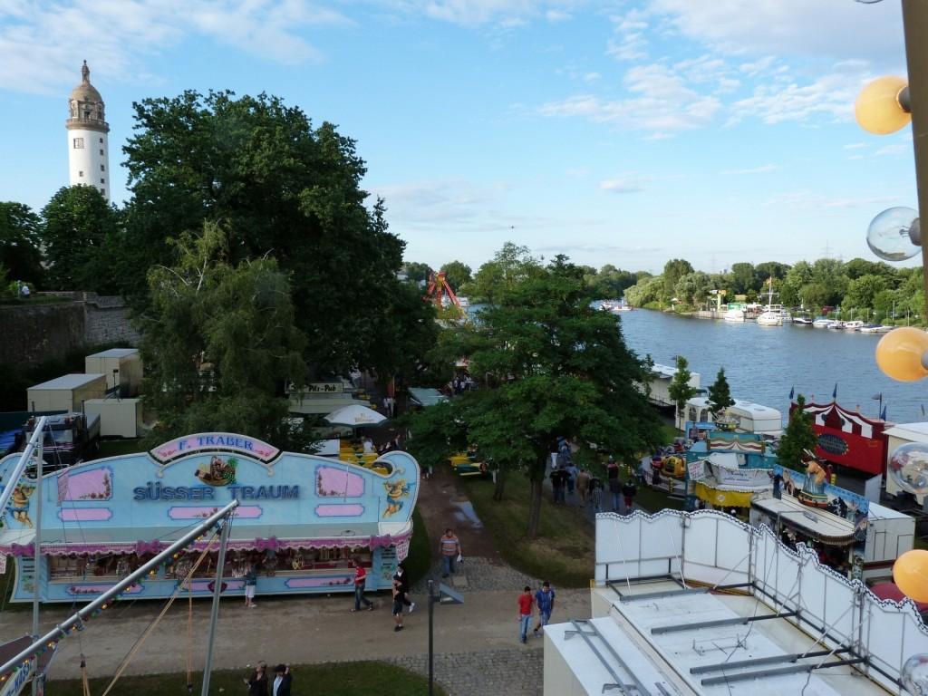 Vergnügungspark Höchster Schlossfest 2012