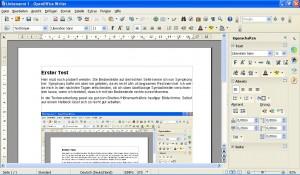 Apache OpenOffice 4.0.0 - Textverarbeitung