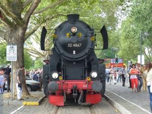 52 4867 am Eisernen Steg in Frankfurt am Main