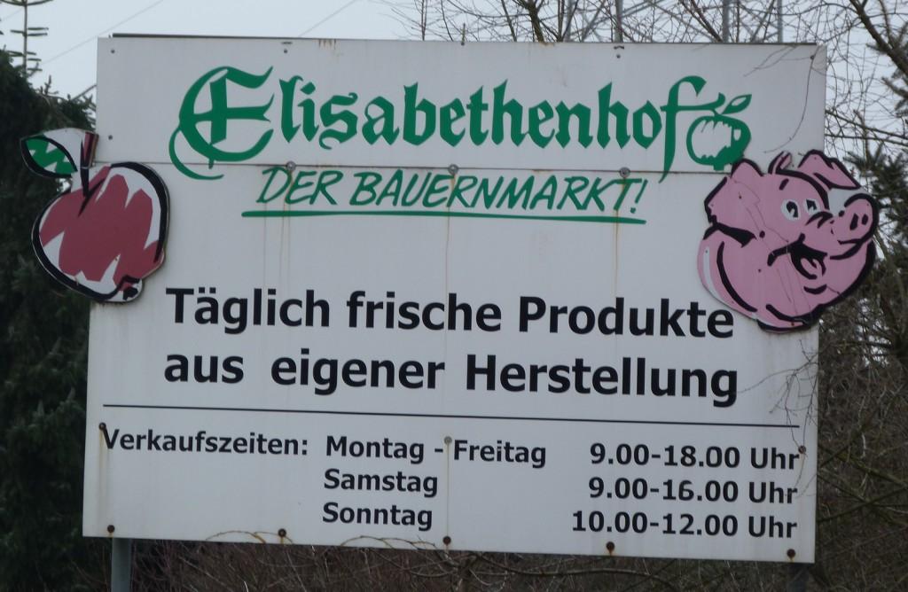 Elisabethenhof in Frankfurt am Main Unterliederbach, Öffnungszeiten