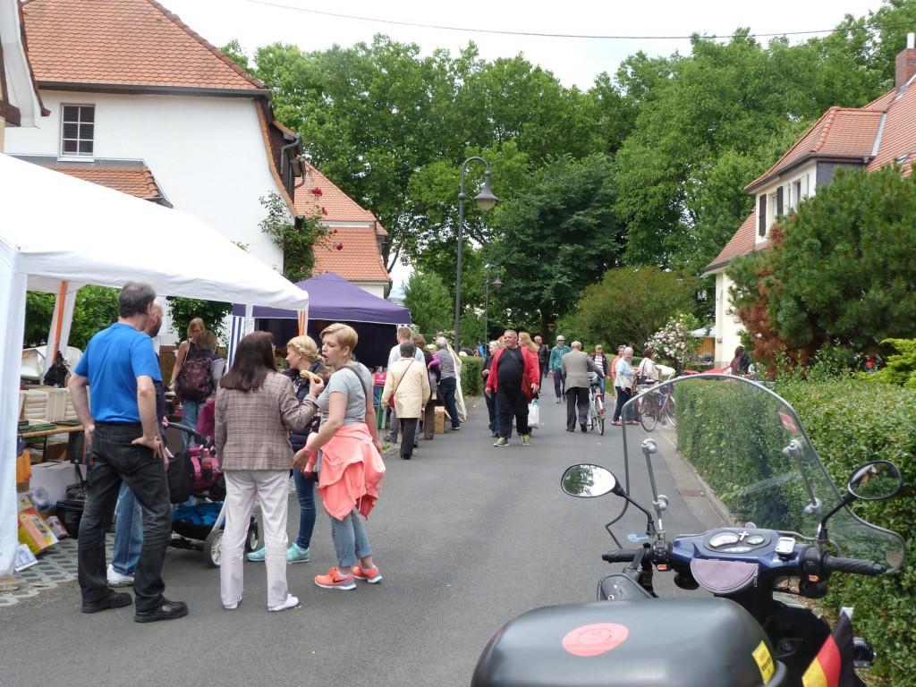 Höfeflohmarkt im Unterliederbacher Heimchen 2015