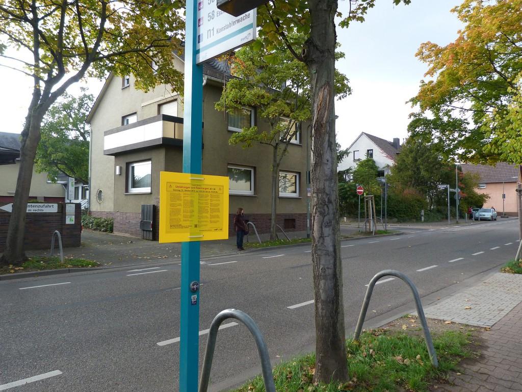 Frankfurt am Main Unterliederbach, Liederbacher Straße