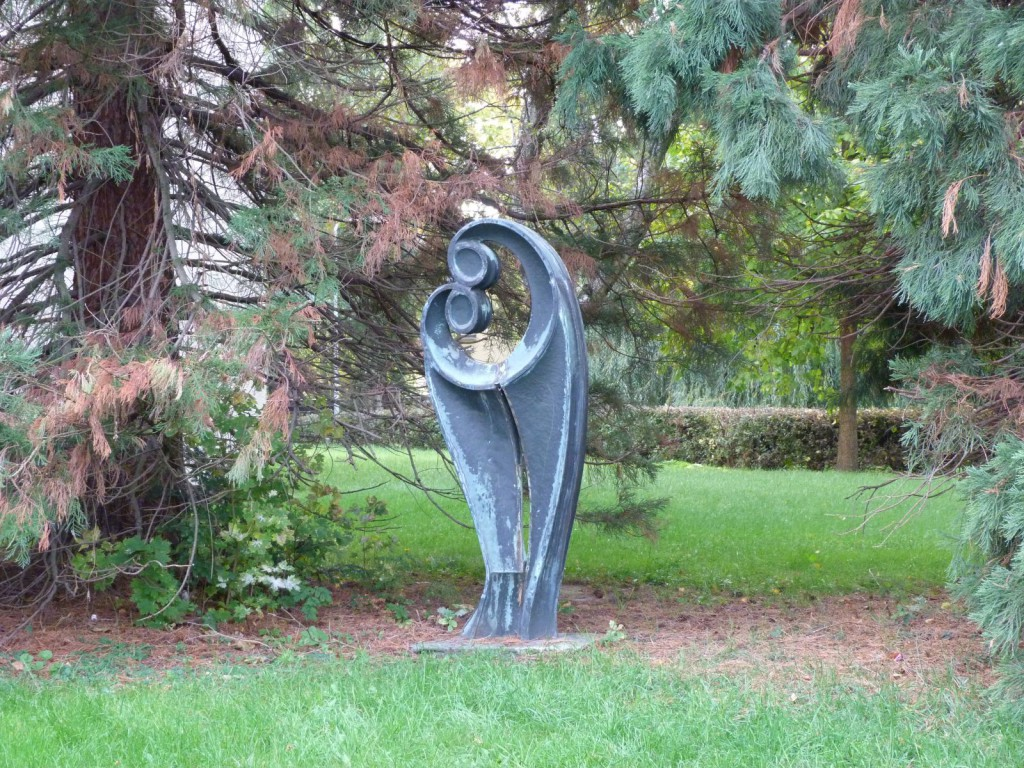 Skulptur in Frankfurt am Main Unterliederbach