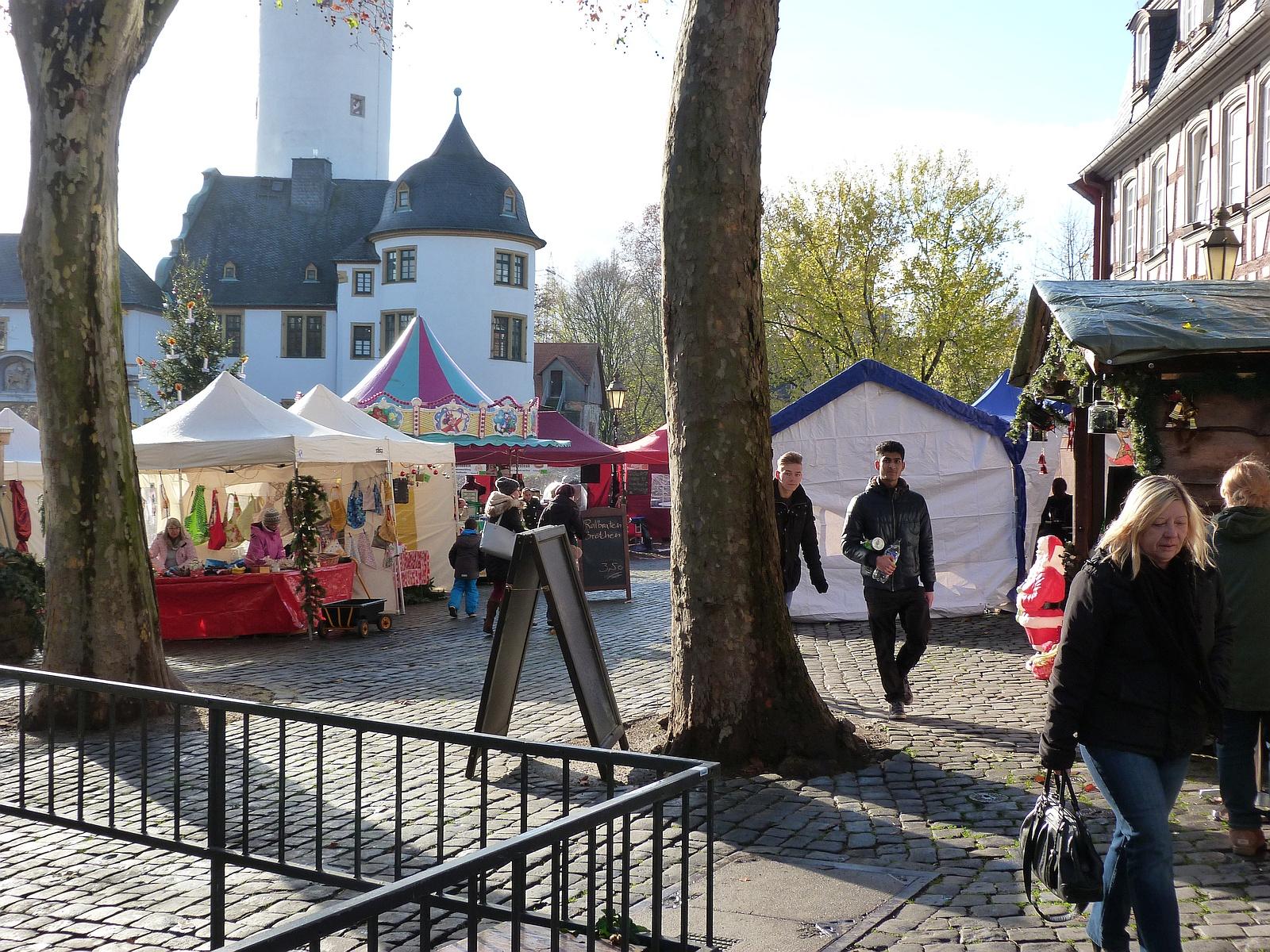 Goetheturm Frankfurt Weihnachtsmarkt.Weihnachtsmarkt Jurgen Lange