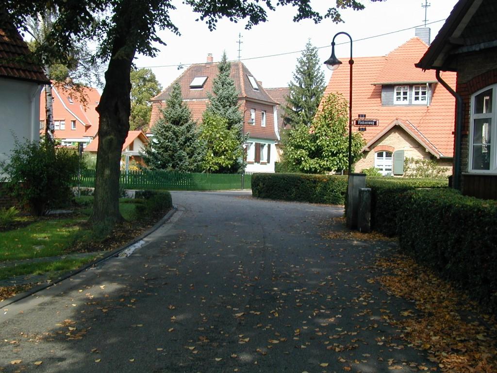Häuser im Heimchen in Frankfurt am Main Unterliederbach (17.09.2000)