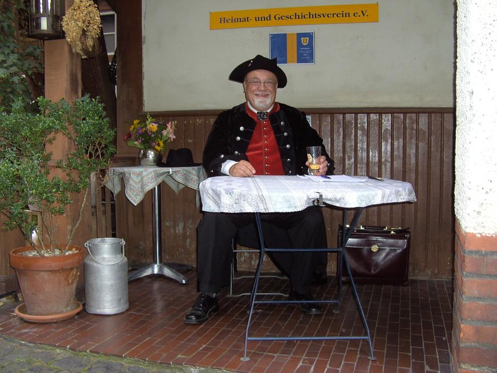 Heinz Alexander am 26. September 2010