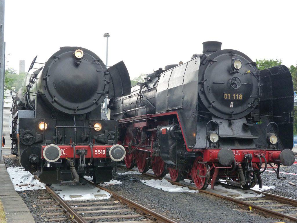 CFL 5519 und 01 118 in Königstein im Taunus