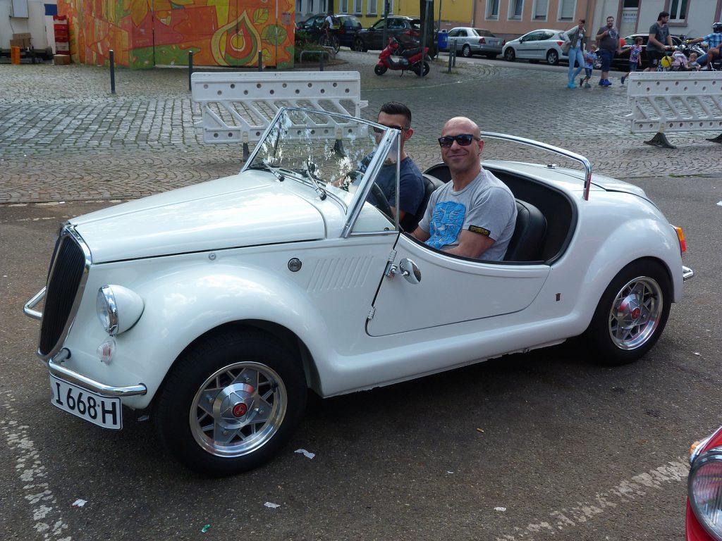 Vignale Gamine auf Basis es Fiat 500