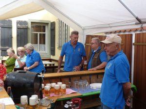 Auf dem Sommerfest des Heimat- und Geschichtsvereins