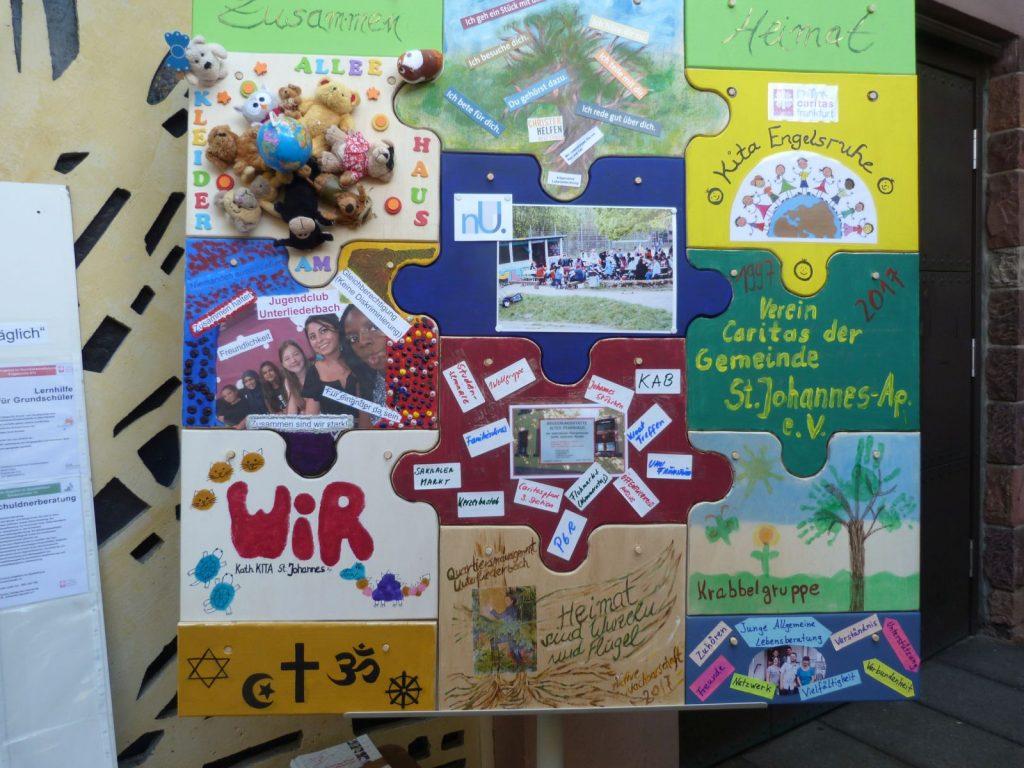 Caritas-Puzzle Frankfurt am Main Unterliederbach