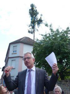 Peter Feldmann, Oberbürgermeister von Frankfurt am Main