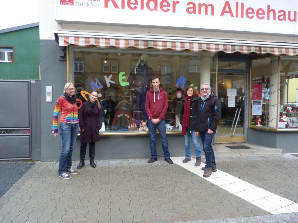 """Quartiersmanagerin Marja Glage und das Team von """"Kleider am Alleehaus"""""""