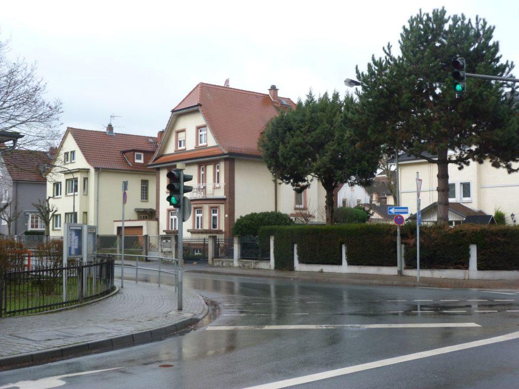 Frankfurt am Main Unterliederbach, Burgunderweg