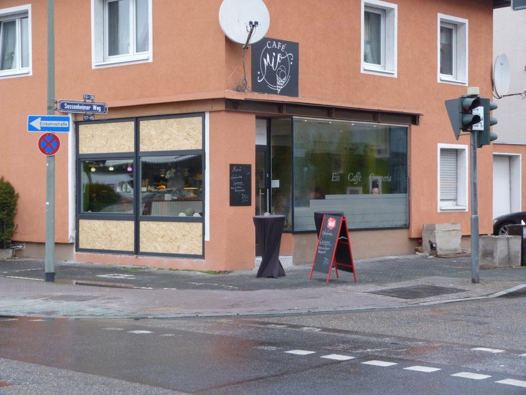 Das Café Mio in Frankfurt am Main Unterliederbach.