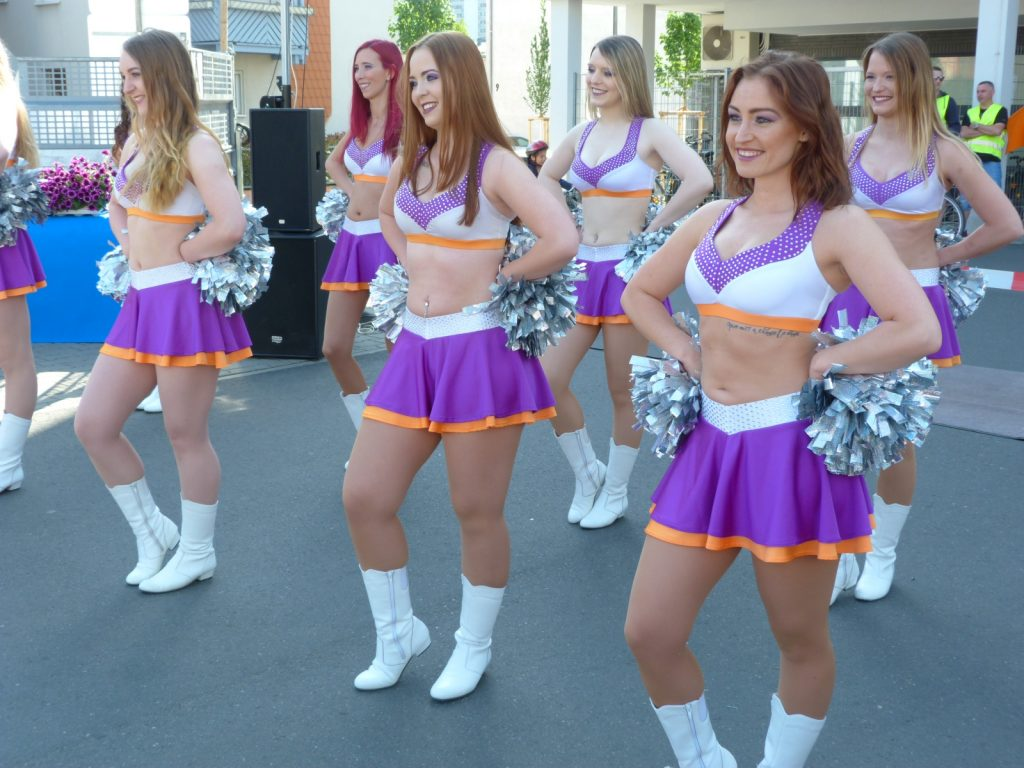 Cheerleader des Samsung Frankfurt Universe