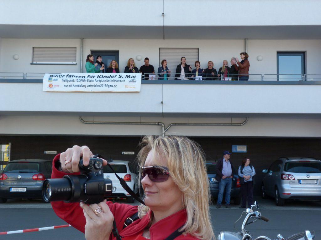 Chor HeartBEAT und die Fotografin