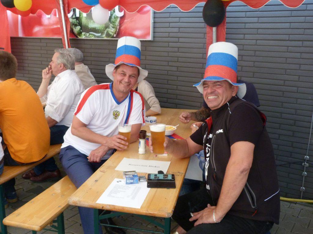 Eugen Lich (Edeka) und Thomas Schrader (Bisko)