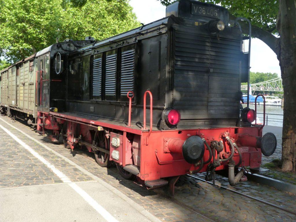 V36 406 der Historischen Eisenbahn Frankfurt e.V. (HEF)