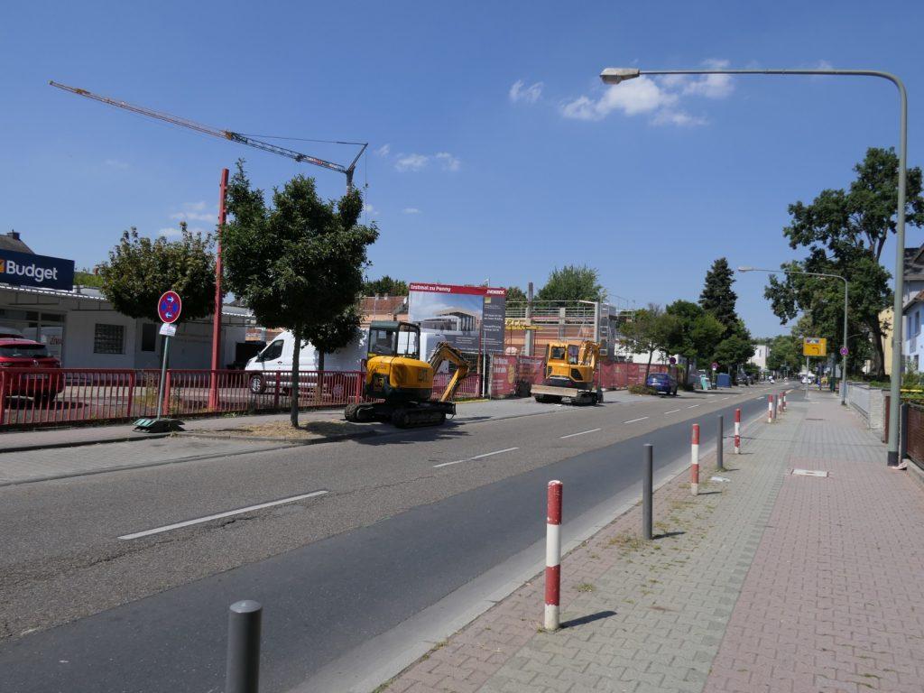 Gotenstraße in Frankfurt am Main Unterliederbach am 27. Juli 2018 um 13 Uhr 13.