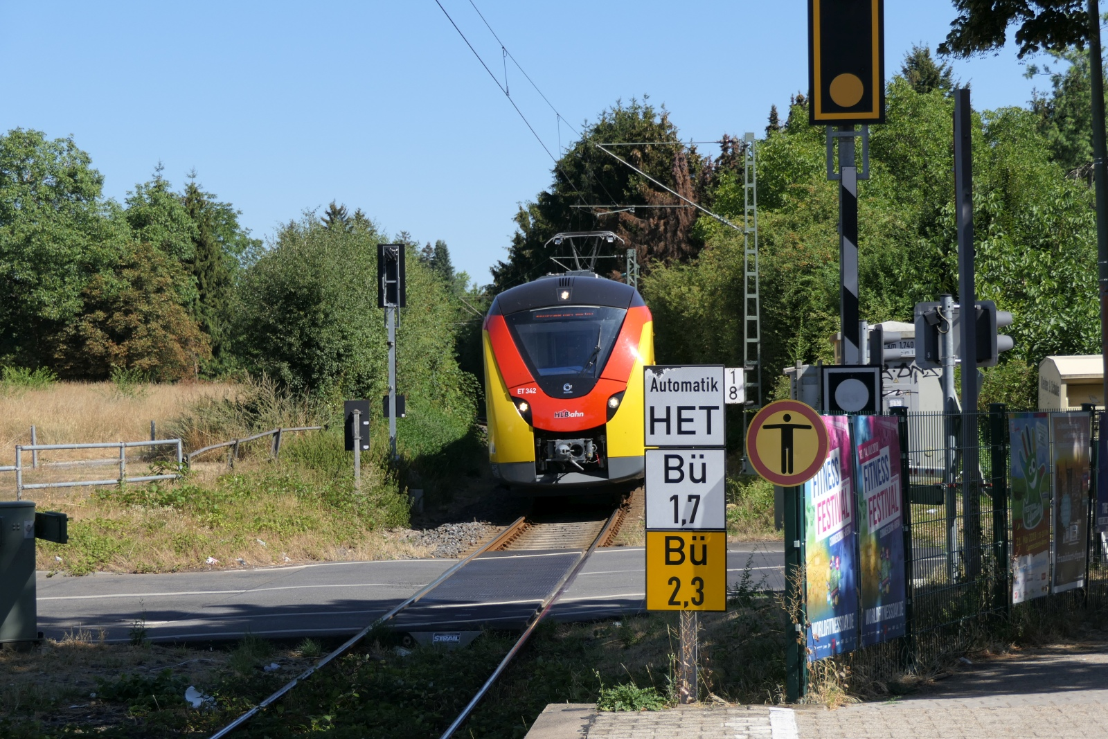 Haltepunkt Frankfurt-Sossenheim
