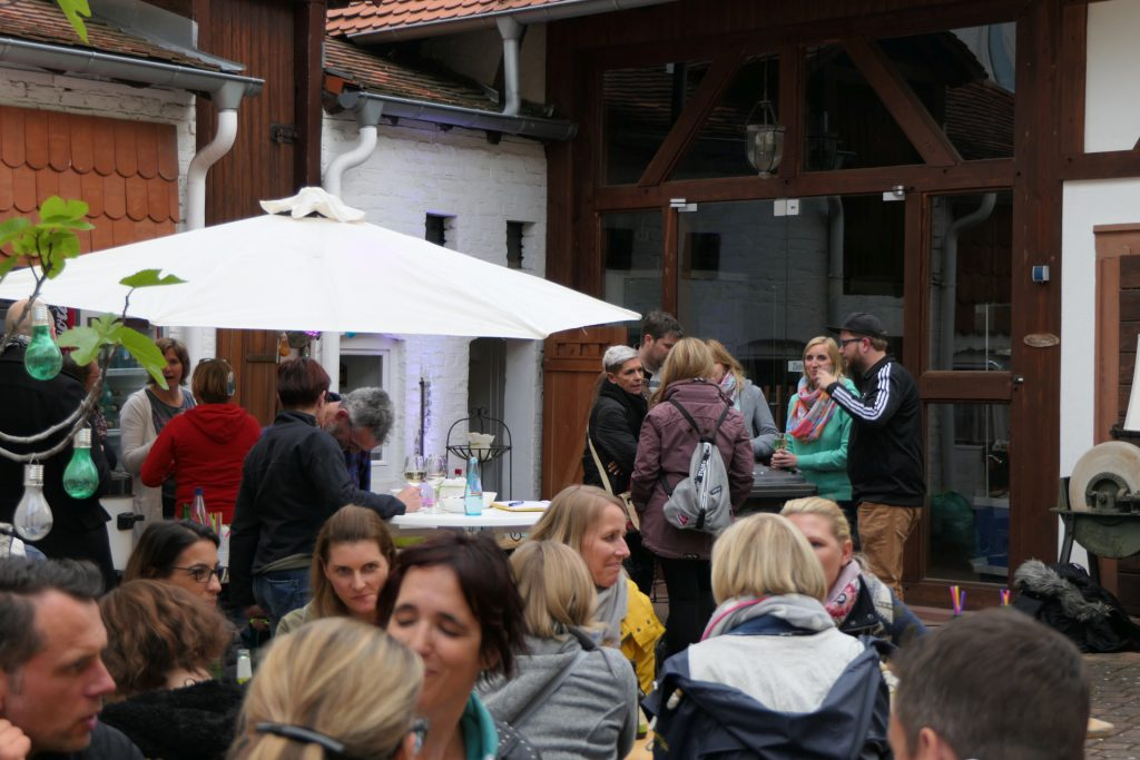 Hoffest des Stadtteilwohnzimmers Unterliederbach