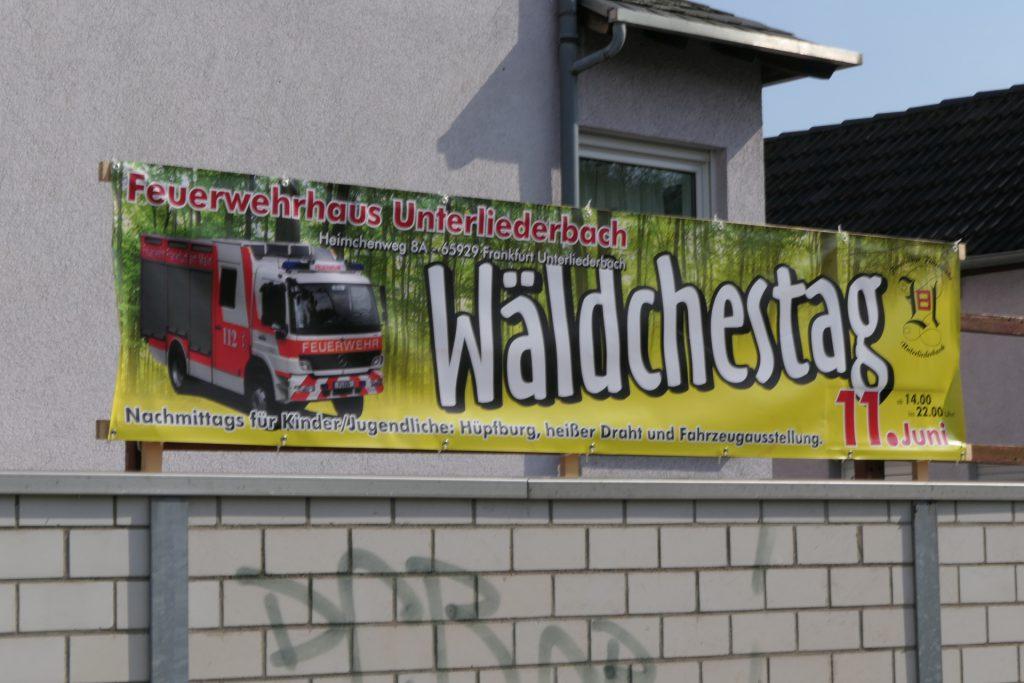 Wäldchestag 2019 in Frankfurt am Main Unterliederbach