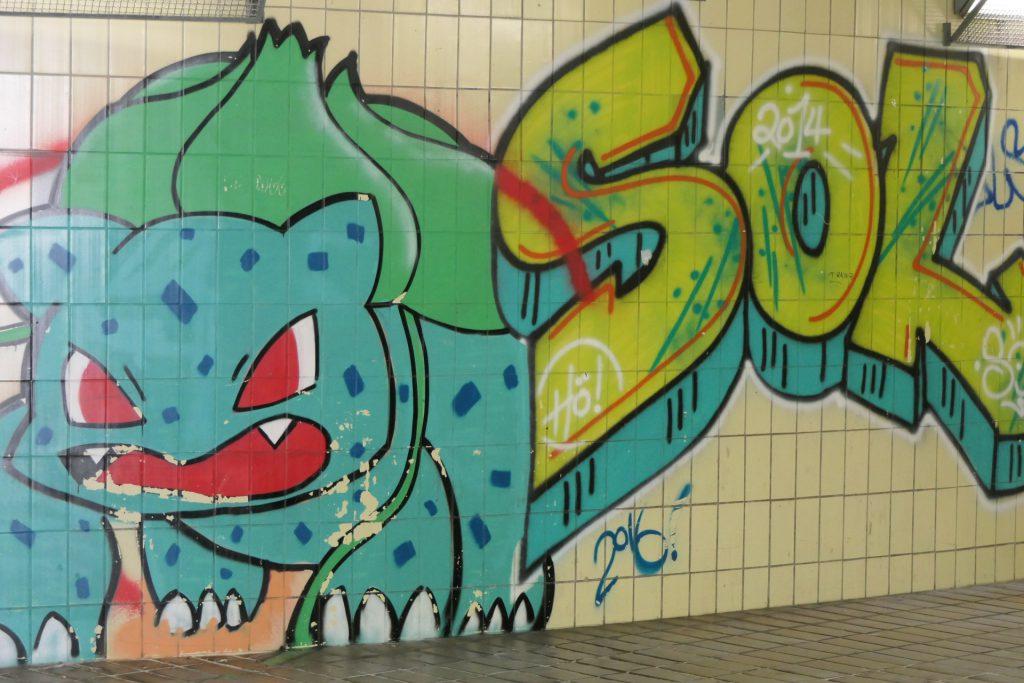Street Art in Frankfurt-Höchst
