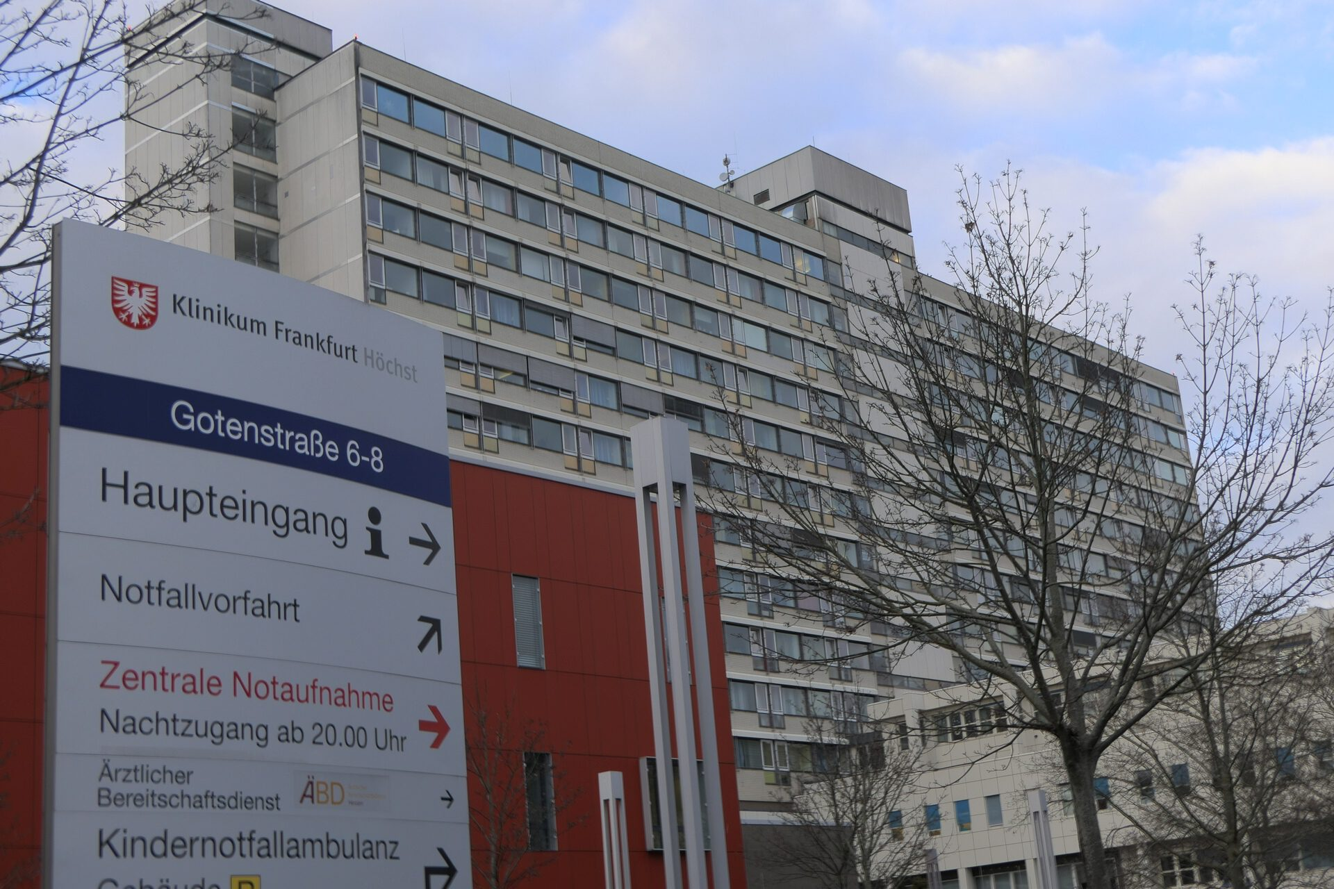 Klinikum Höchst, Betttenhaus