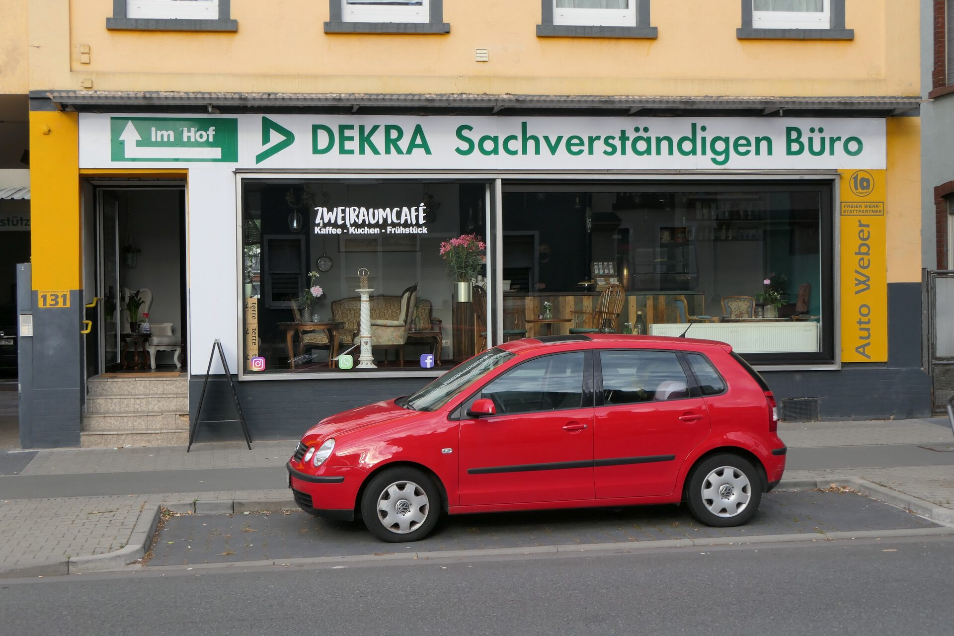 Zweiraumcafé, Frankfurt am Main Unterliederbach
