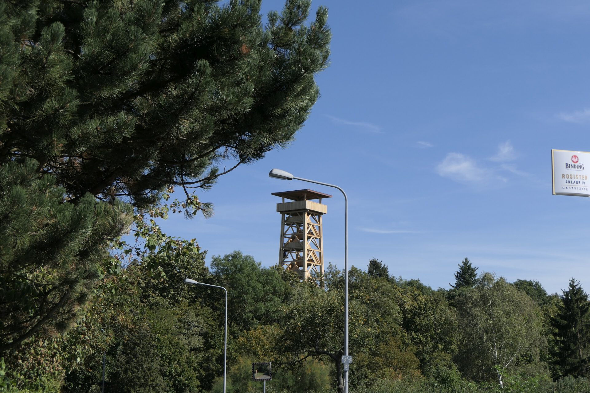 Neuer Goetheturm in Frankfurt am Main Sachsenhausen